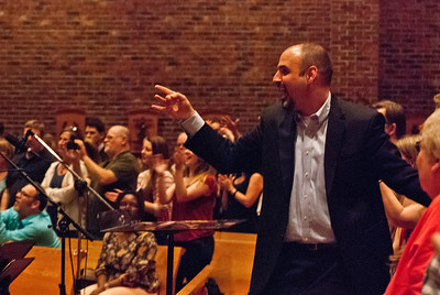 Peppie Calvar - Conductor, Teacher, and Musician Photo also featured in Charlotte Catholic News Herald - http://catholicnewsherald.com/features/current-edition