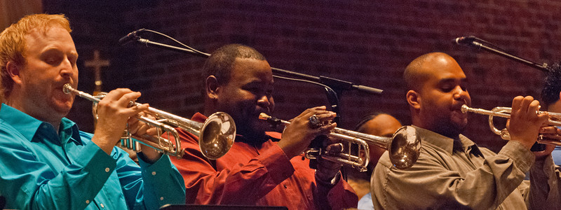 PEOPLE at St John Neumann: Trumpeteers at Duke Ellington Sacred Jazz Concert