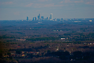 View of Charlotte from Crowder